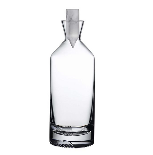 MARBLE STOP WHISKEY DECANTER