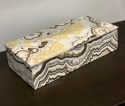 AGATE RECTANGULAR BOX