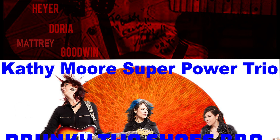 Live Music: In Halen with Kathy Moore Super Power Trio