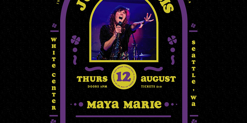 Live Music: Julia Francis with Maya Marie (TICKETS AVAILABLE AT DOOR AT 7pm)