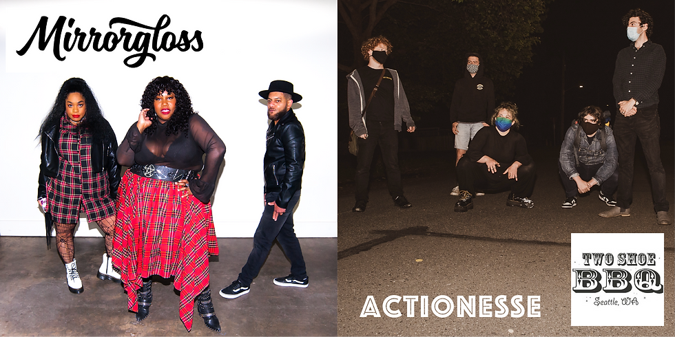 Live Music: Actionesse with Mirrorgloss (TICKETS AVAILABLE AT DOOR at 8pm)