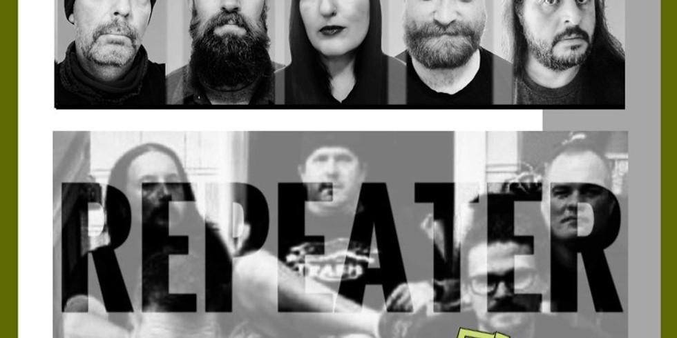 Live Music: Planetelex (Tribute To Radiohead), Repeater (Tribute To Fugazi)