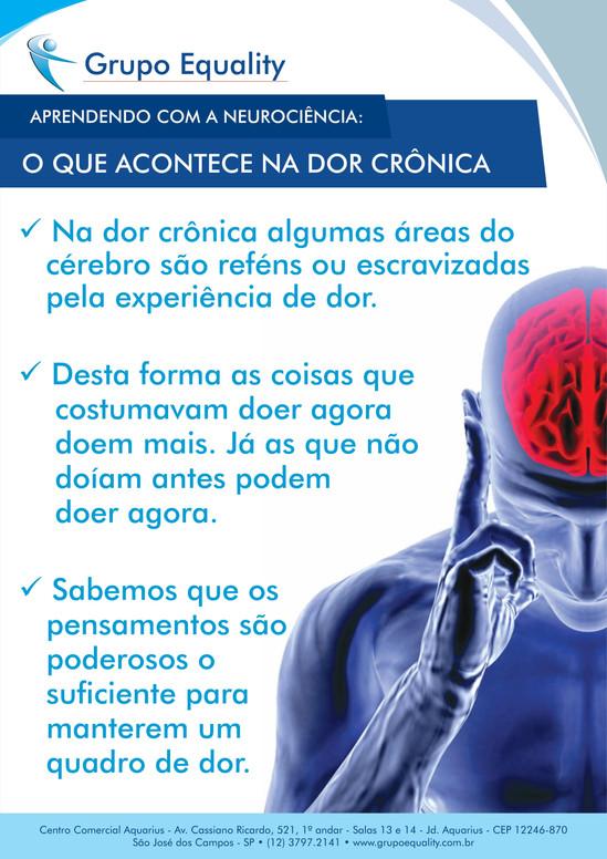 O que acontece na dor crônica?
