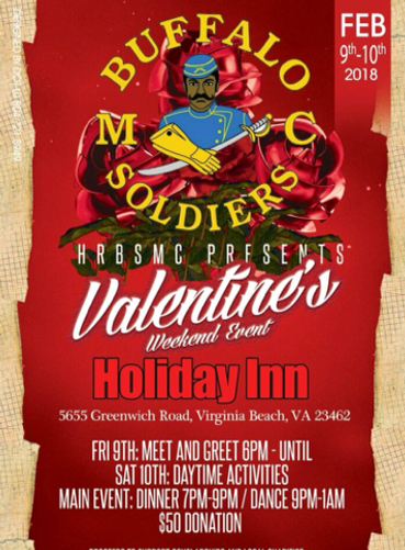 BSMC Hampton Roads Valentines Dinner Dance @ Holiday Inn | Virginia Beach | Virginia | United States