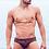Thumbnail: 2eros - V10 Print Swimwear Brief - Persia