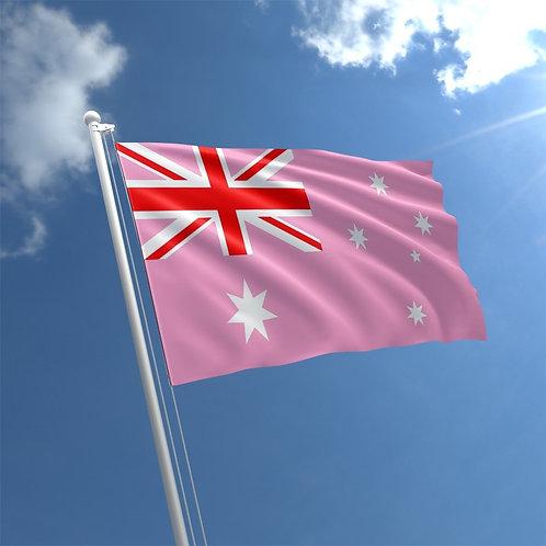 Pink Australian Flag
