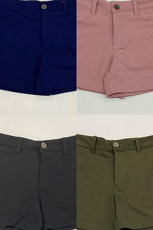 Christopher Daniel - Stretch Cotton Shorts - 4 Colours