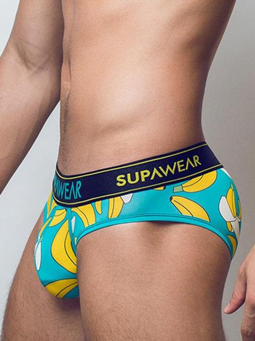 Supawear Sprint Brief Underwear - Bananas