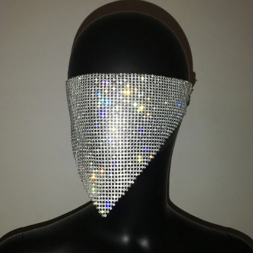 Glow Mesh Face Mask + Free Surgical Mask