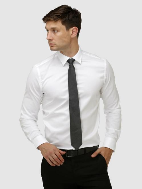 Brooksfield The Hero Regular Cuff Shirt - White