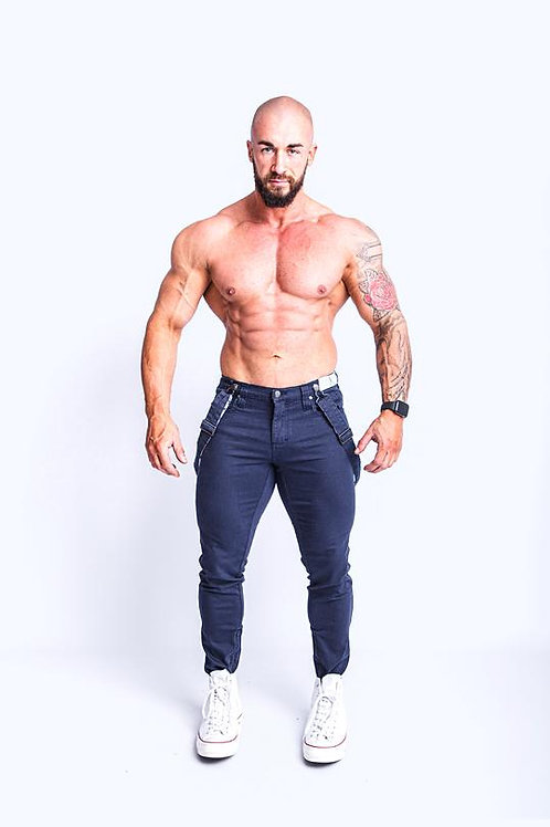 Tigerhorse Jaxson Ink NO-RIPS Slim Jean
