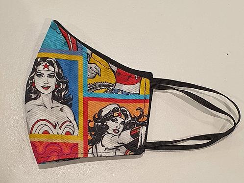 Face mask-Wonder Woman