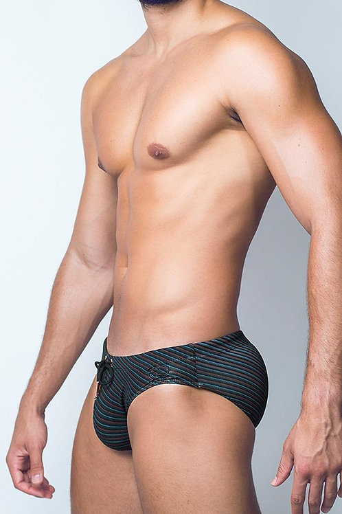 2EROS-V10 Print Swimwear - Valor Black