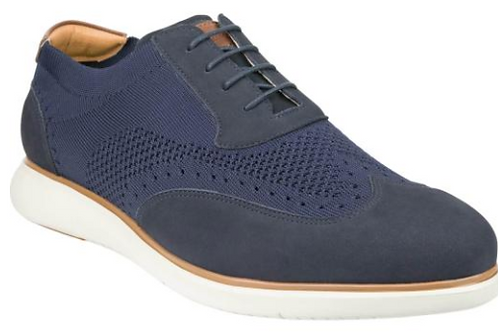 Florsheim: Fuel Knit Lace Up Shoe - Navy