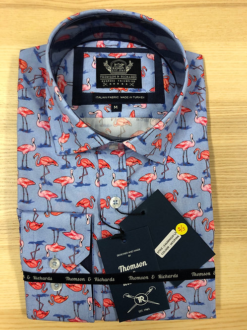 Thomson & Richards Flamingo Shirt