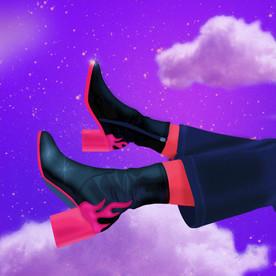 Les pieds dans les étoiles