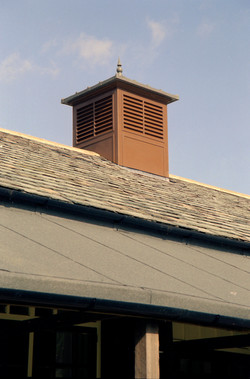 Roof turret for TV locations