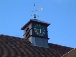 Village hall clock tower