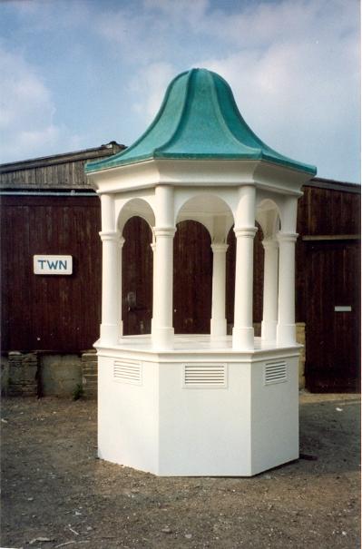 Octagonal bell tower