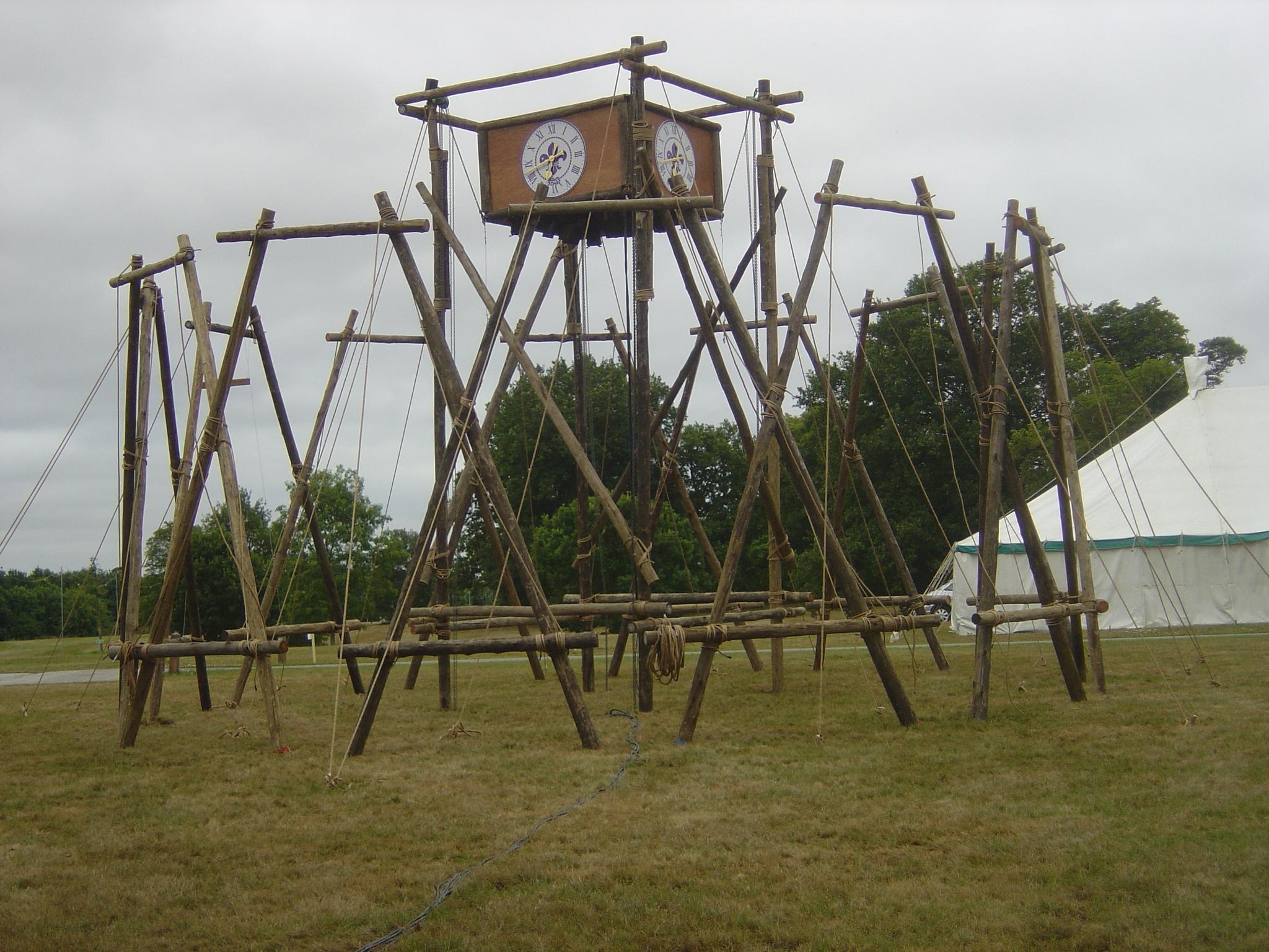 Scouts clock