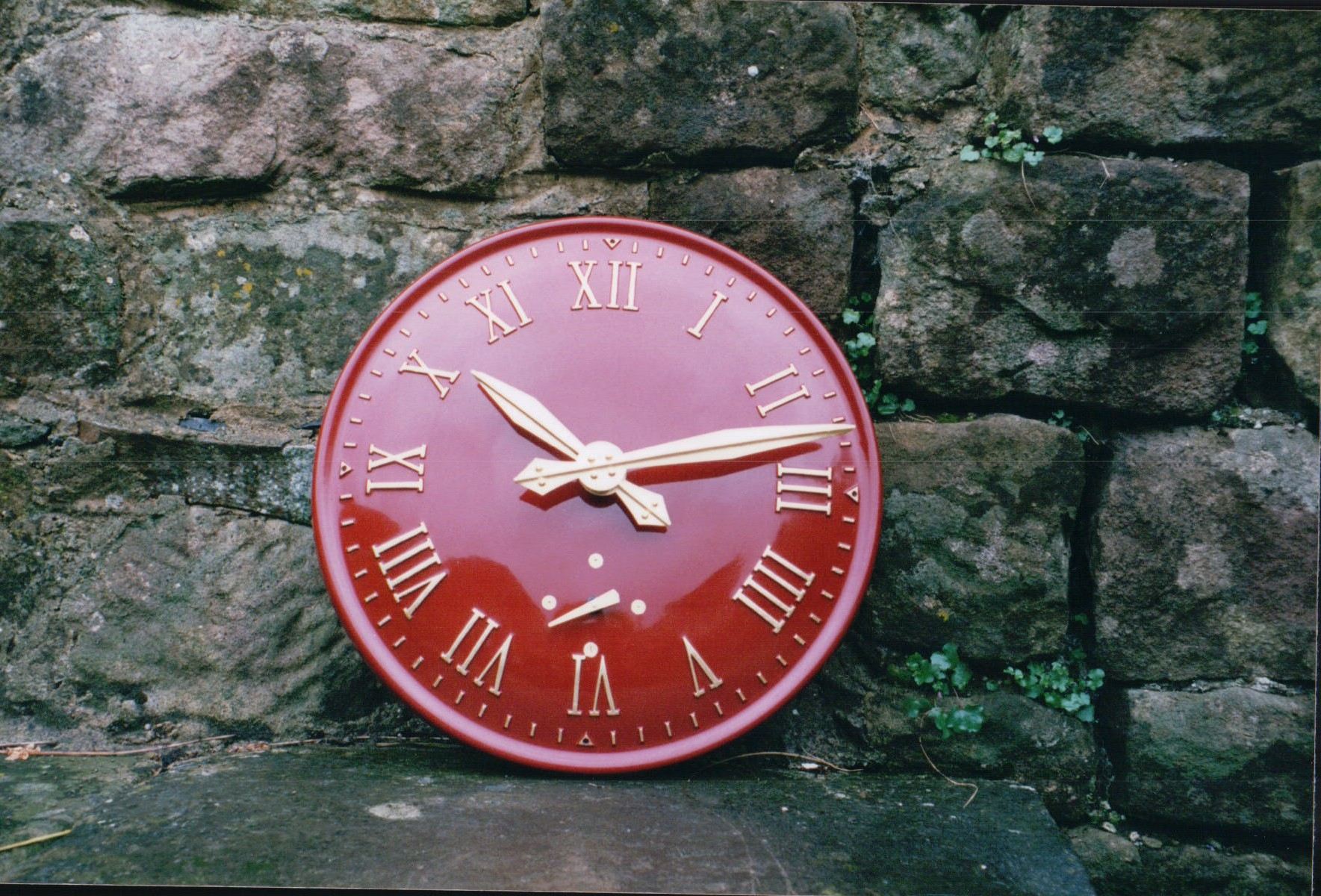 Mains Powered Exterior Clock