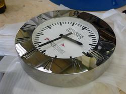 Sign written promotional clock
