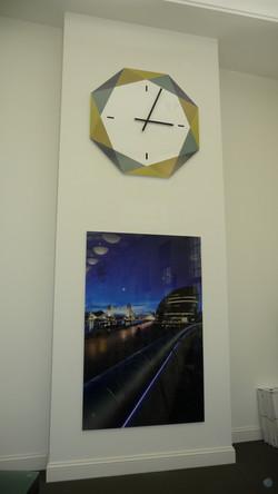 Interior office clock