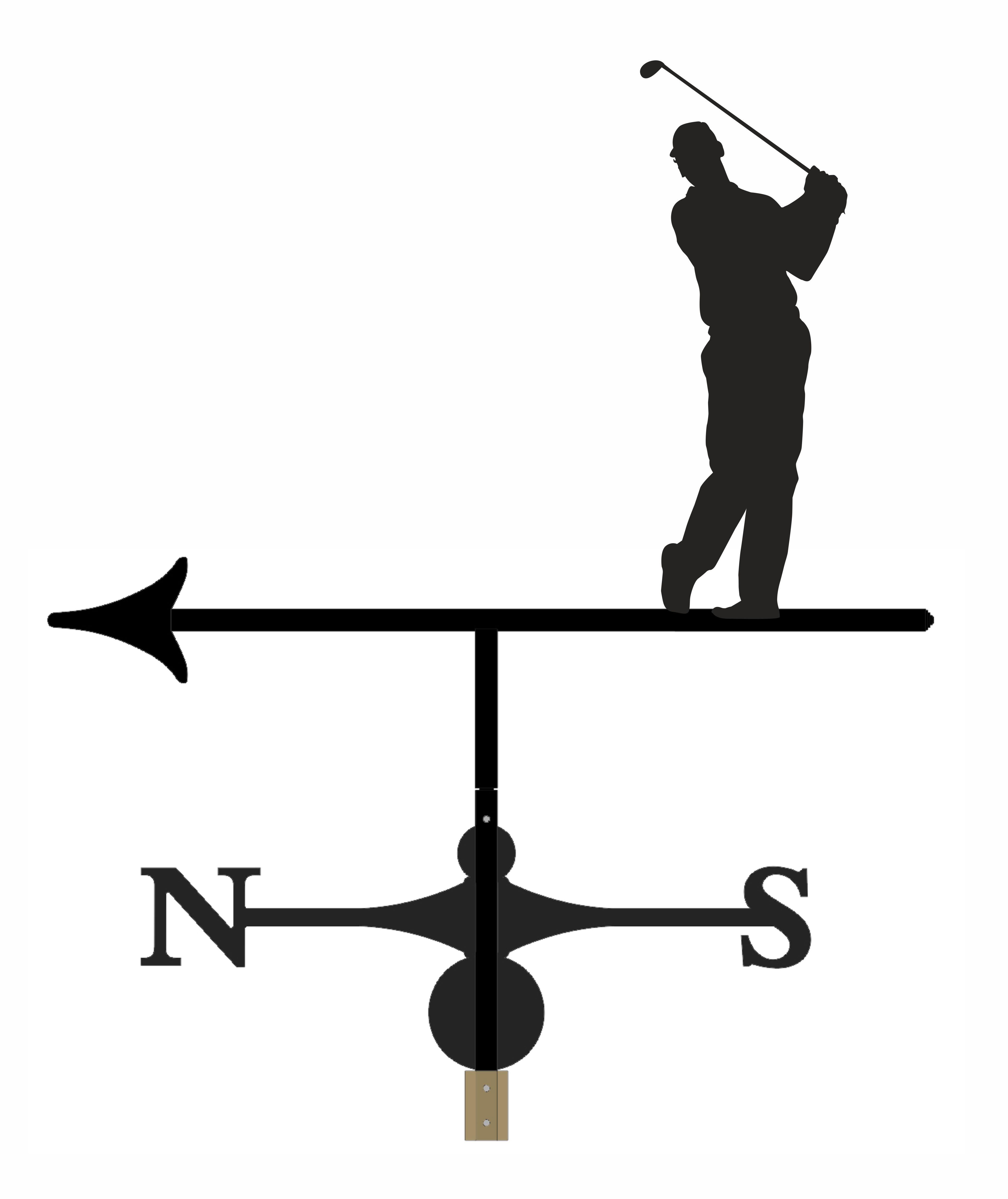 Weathervane - Golfer 1