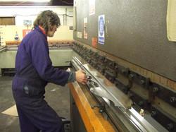 Clock hands in manufacture