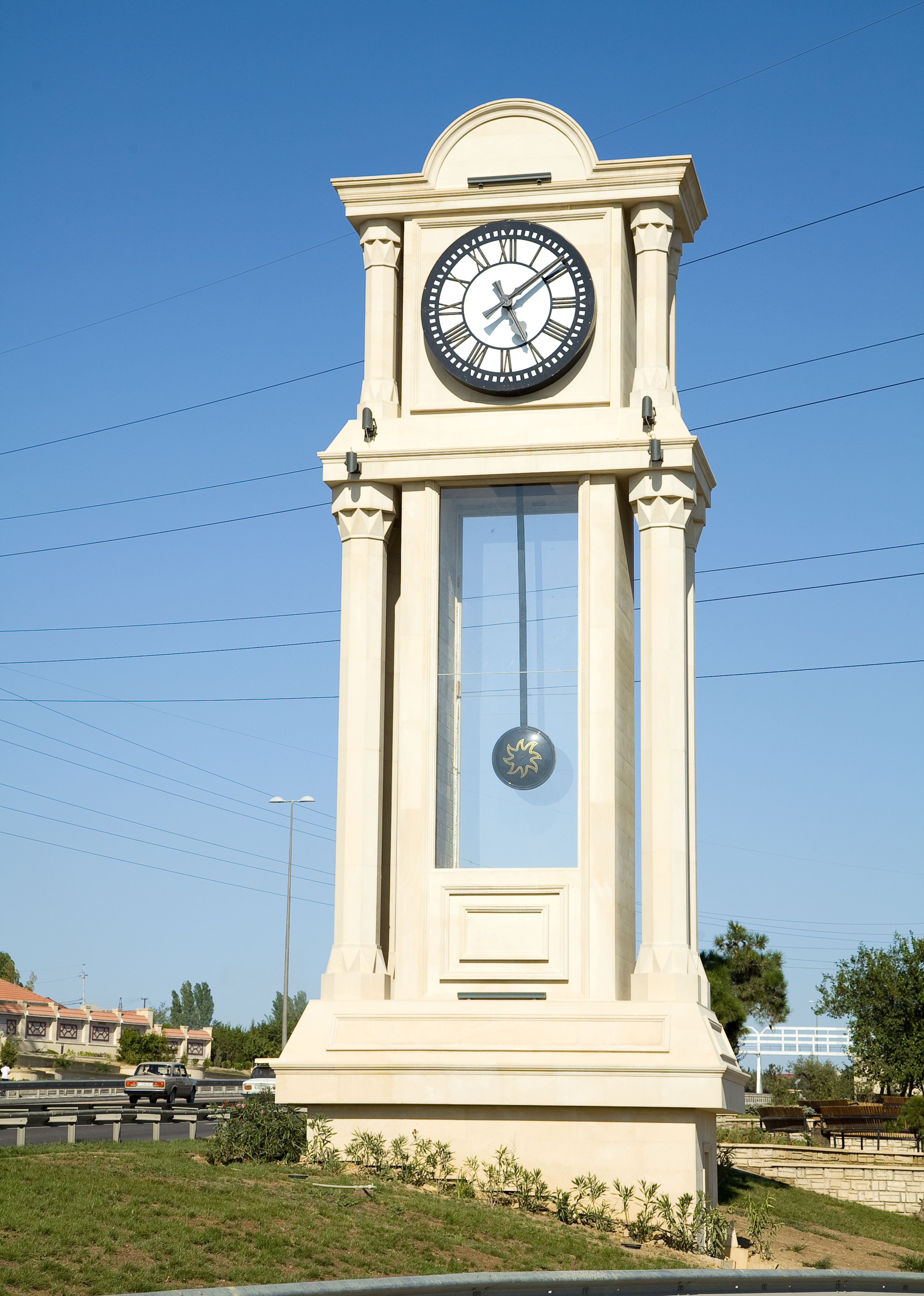 Worlds largest Grandfather clock