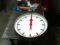Interior clock for pub