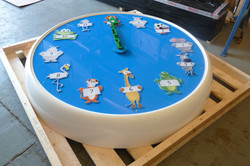 Bespoke Clock with Digitally Printed