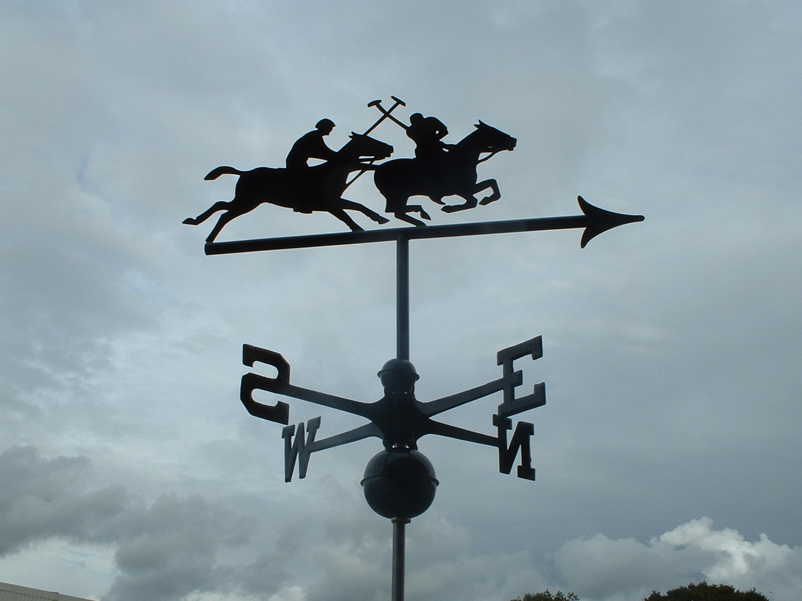 Polo Horse Weathervane