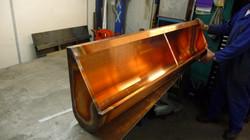 Bespoke copper urinal