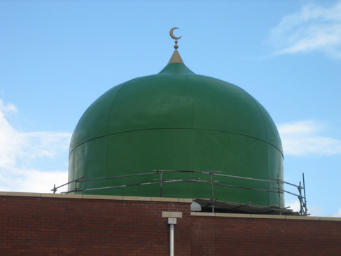 GRP Dome for Mosque