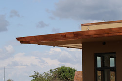 Copper flashing and trim