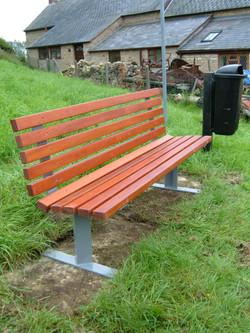 Kara seat in park 2