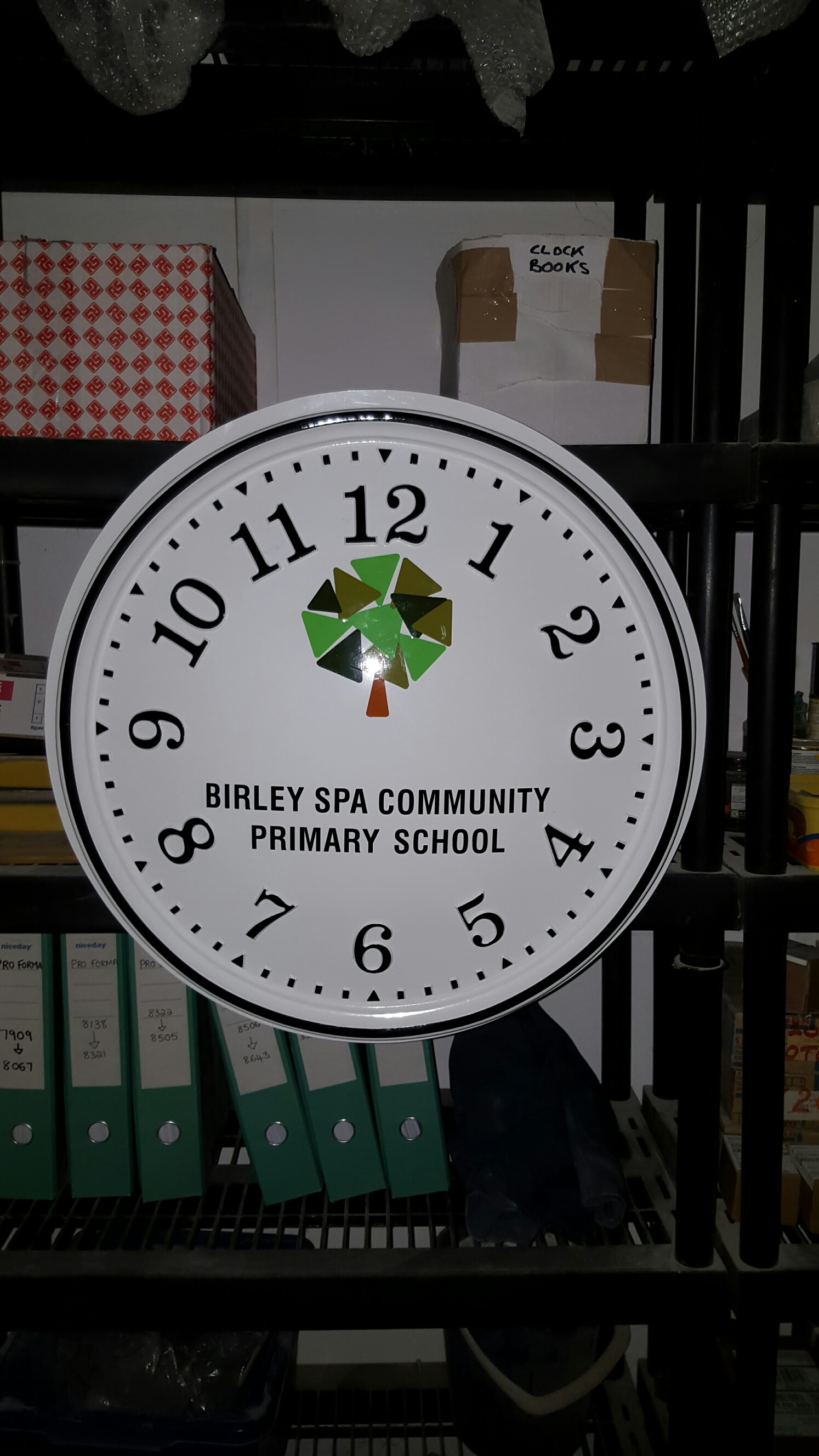 Large Playground Clocks for Schools