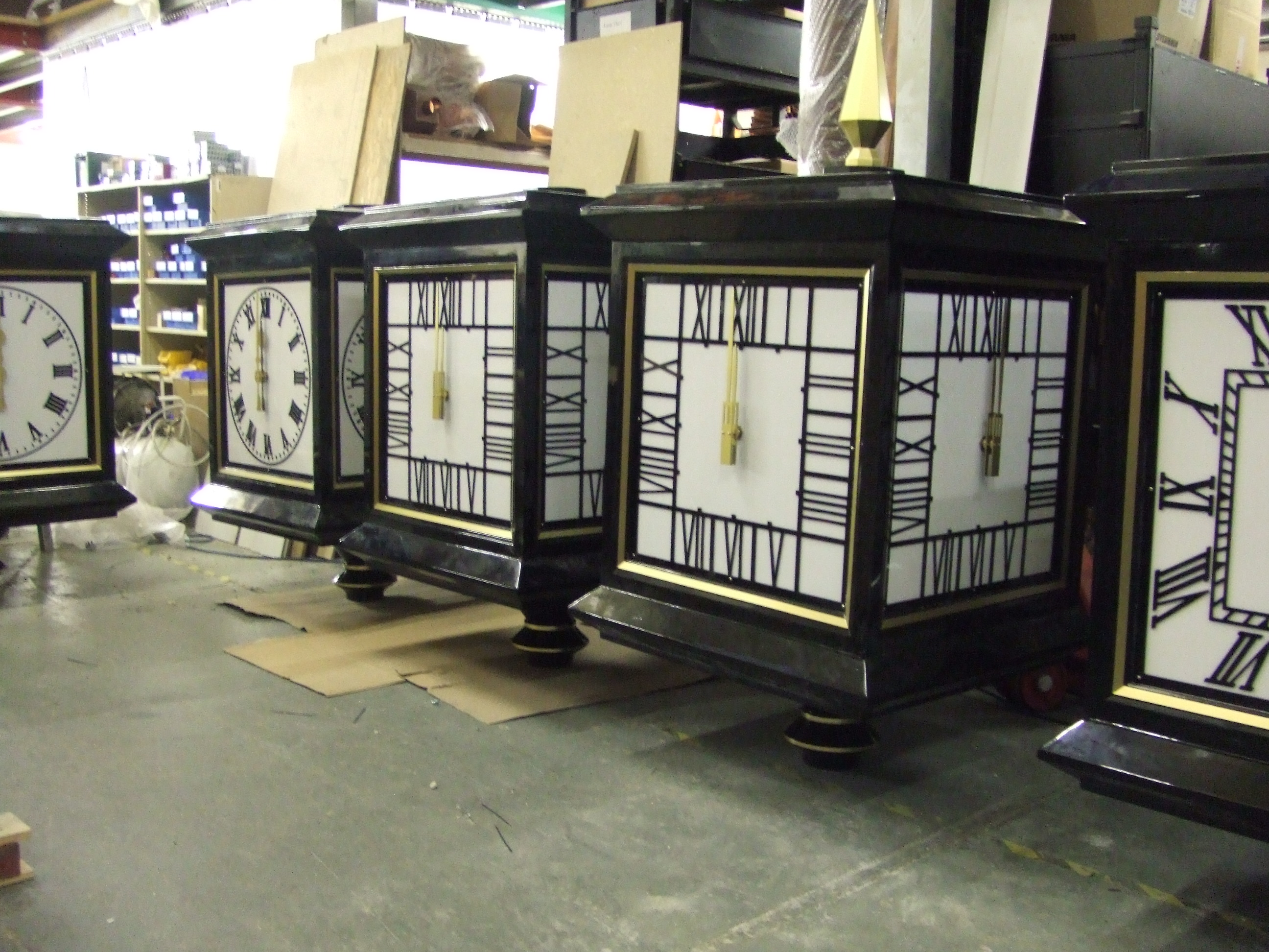 Mackintosh dial pillar clocks