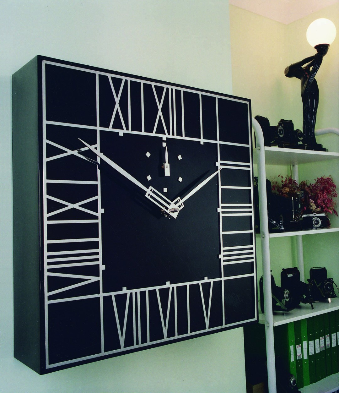 Mackintosh clock in office