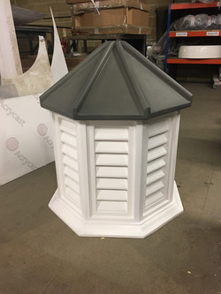 620mm wide Octagonal cupola 1