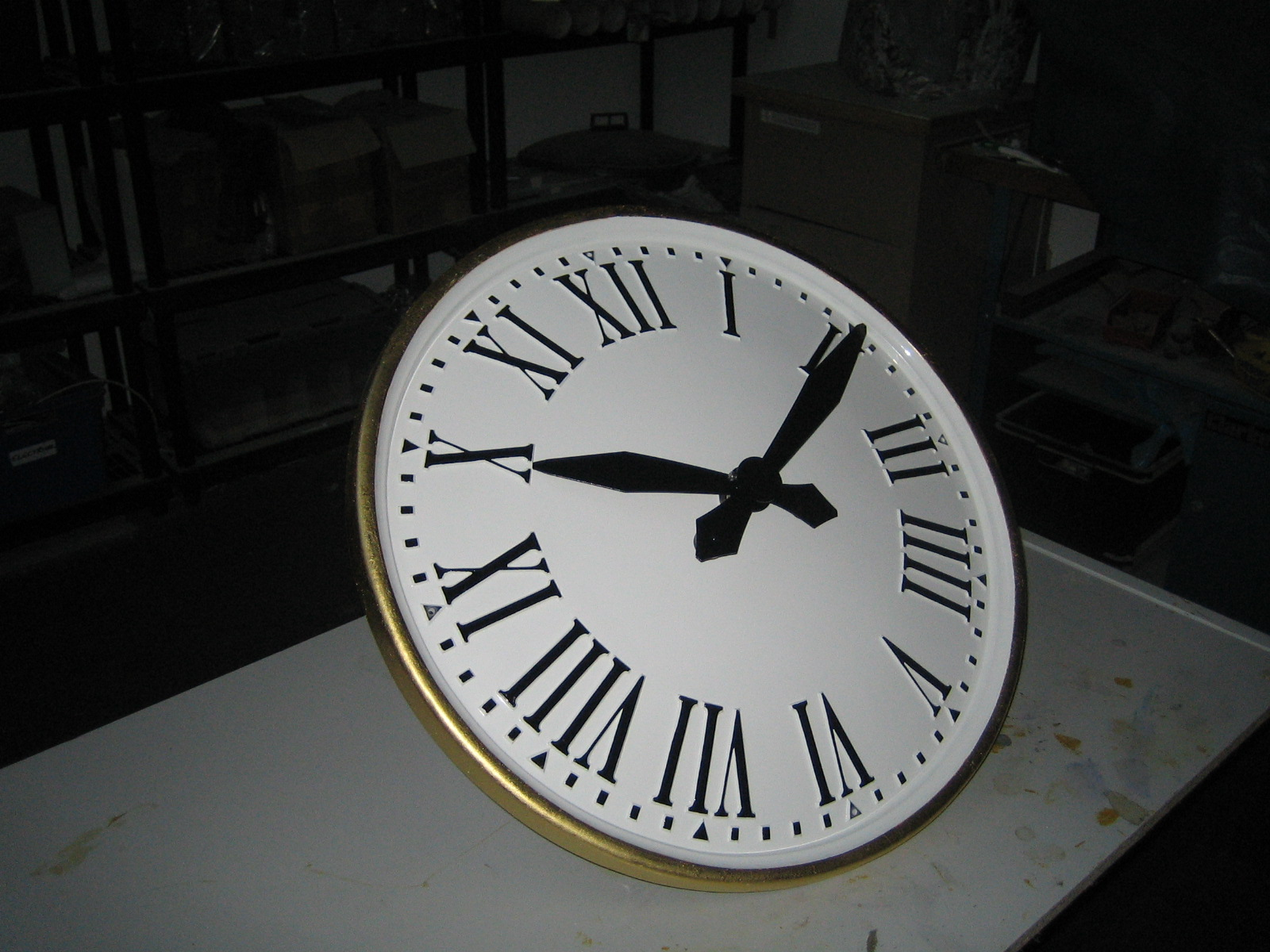 Mains Powered Clock
