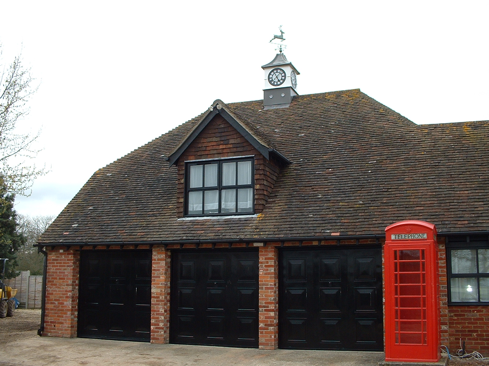 Clock towers for garages