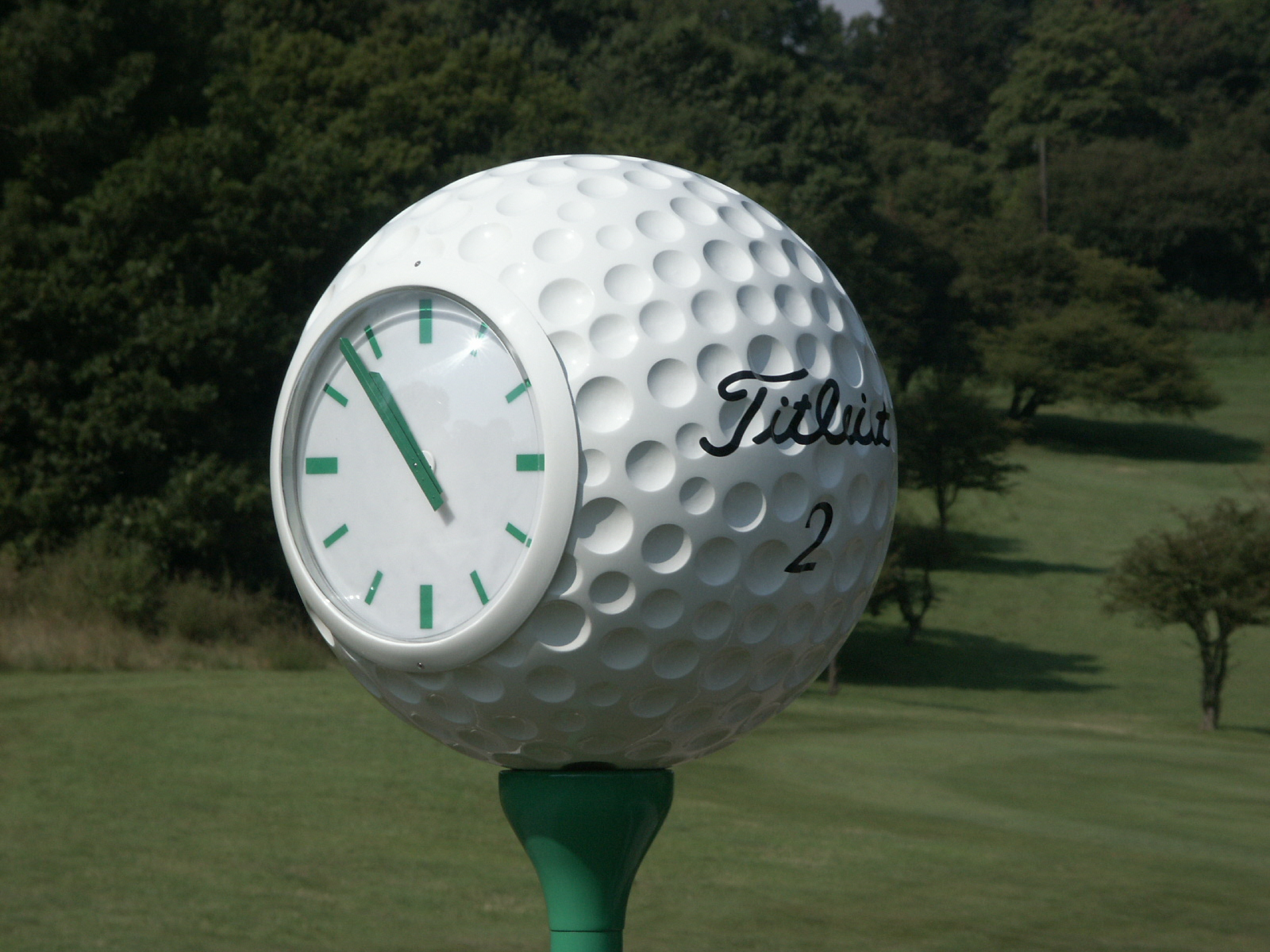 Golf Course clock for 1st tee