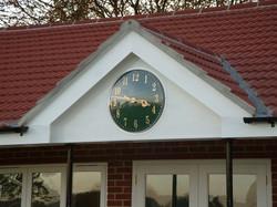Sports club clock