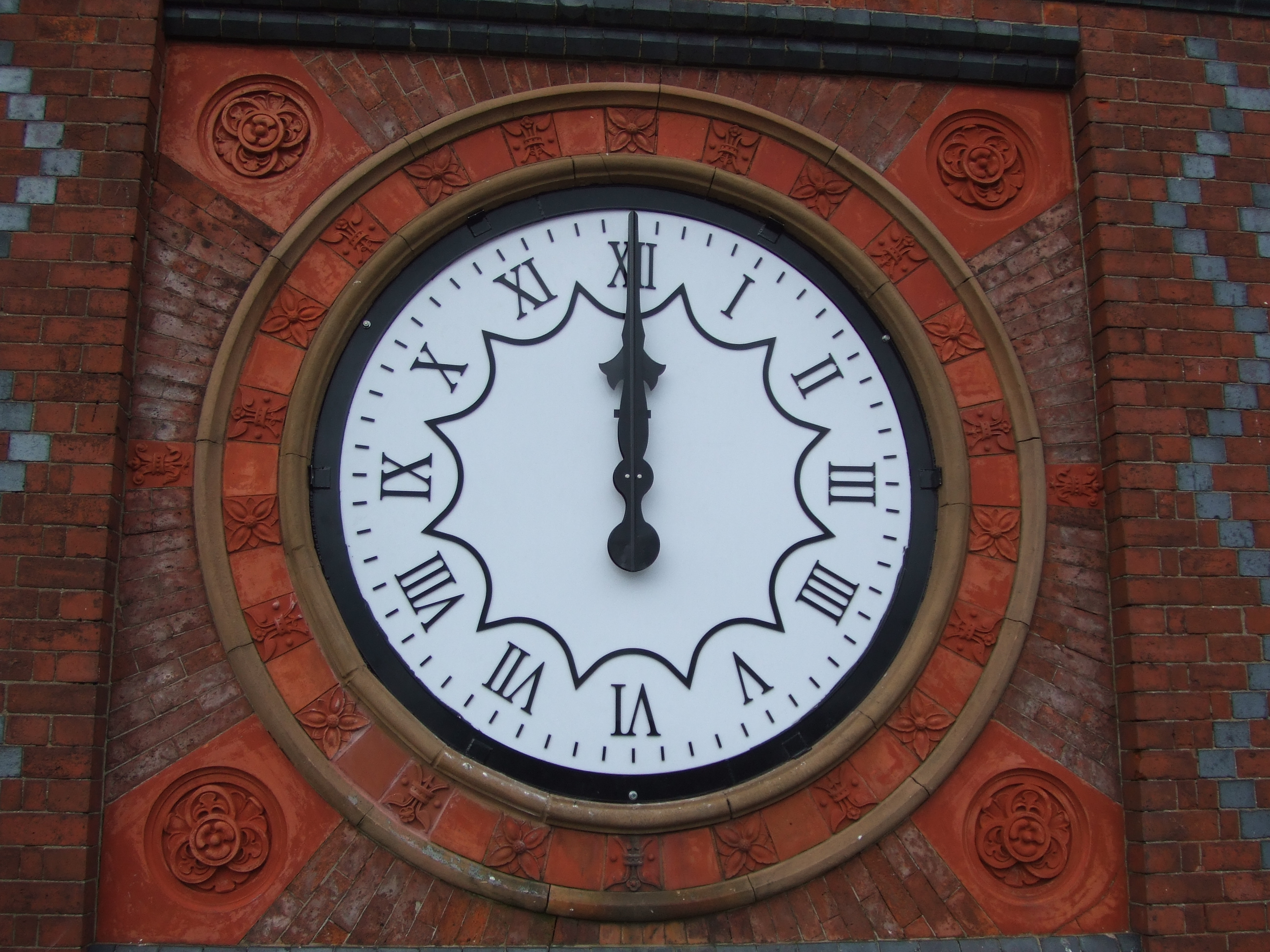 White external clock