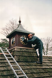 Shire Clocks restore and maintain tower and turret clocks