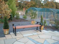 Avenue bench wood (1)