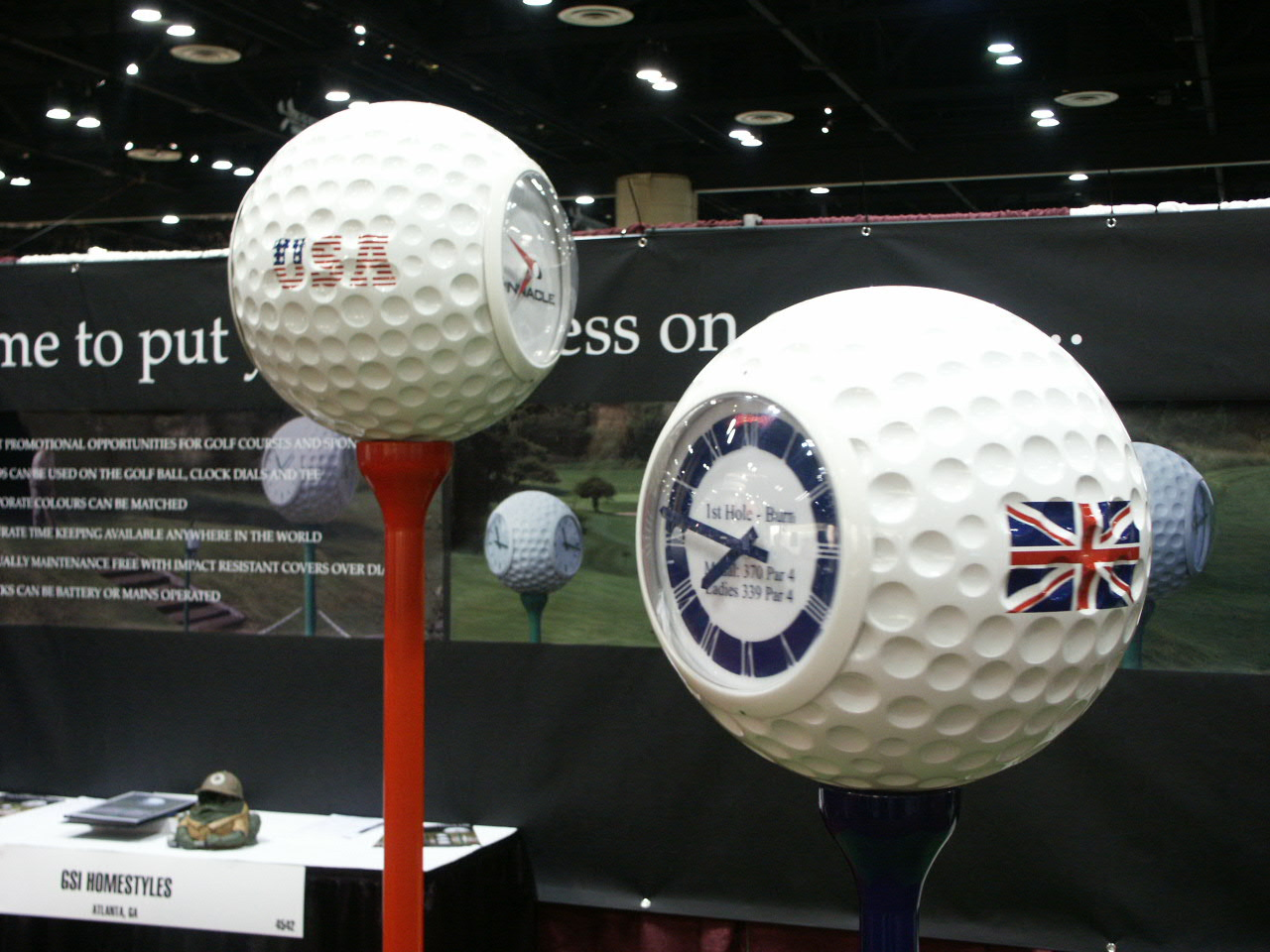 Promotional Golf Ball clocks