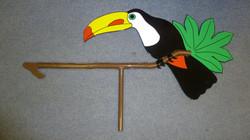 Toucan Weathervane
